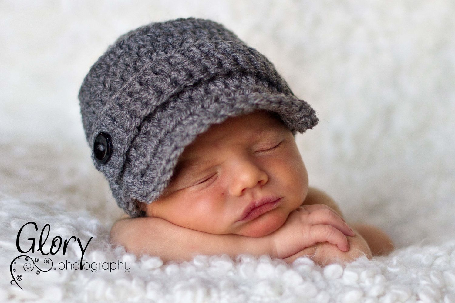 053df75ae Baby Boy Hats, Baby Hats, Newborn Hat, Crochet Hats, Photo Props ...