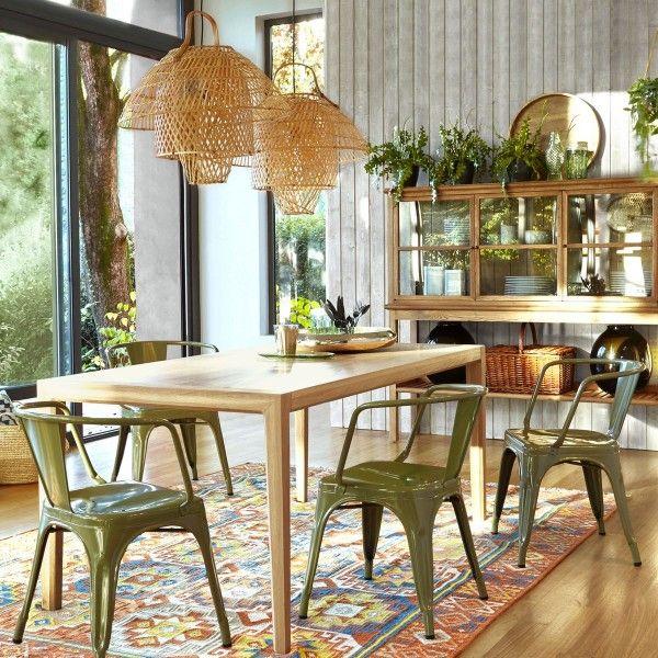 Fauteuil D Tolix authentique vert kaki Pinterest Interiors