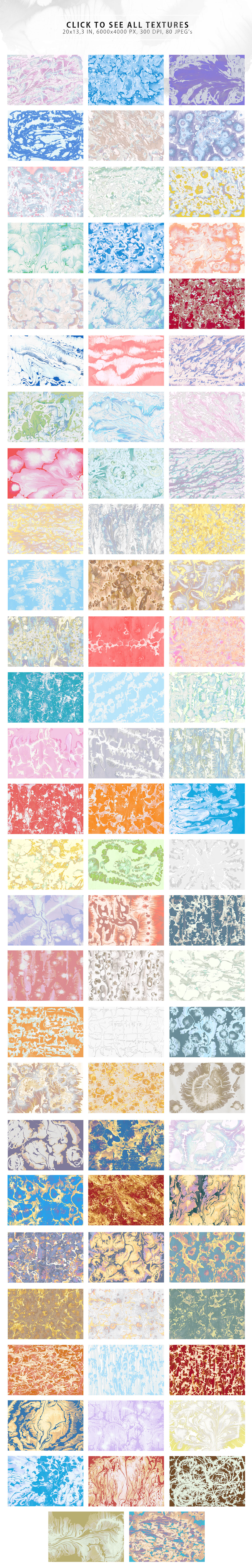 Wet Paint Textures by ArtistMef on creativemarket Paint