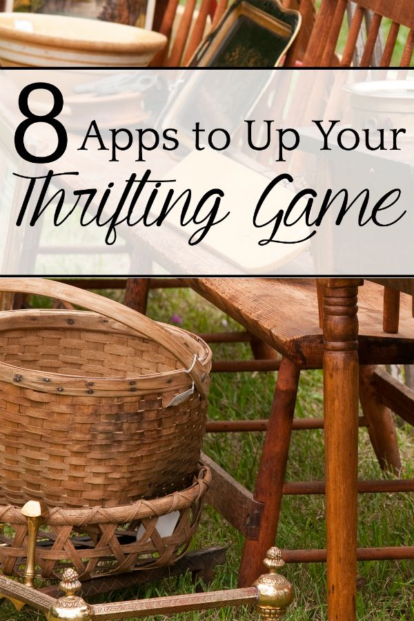 8 Apps to Up Your Thrifting Game Thrifting, Decor, Home