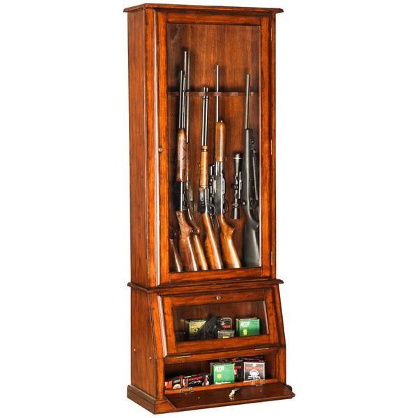 Wooden Gun Cabinet Wooden Gun Safe Store Your Firearms Safely