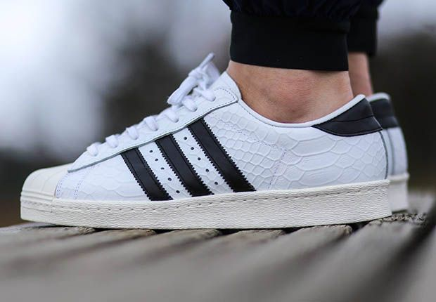 adidas superstar black heren