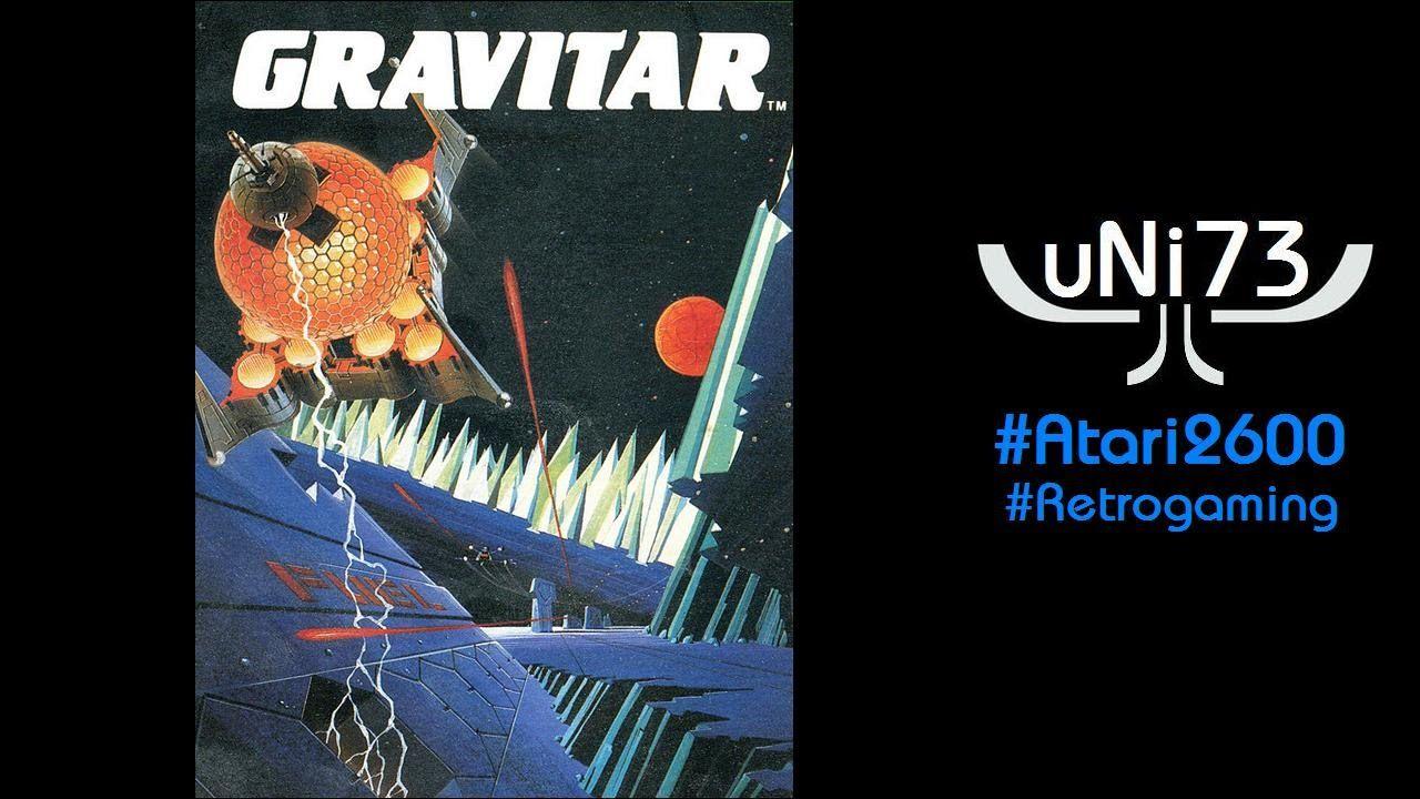 Gravitar (1983, Atari) Atari 2600 Score 19850 (Novice)