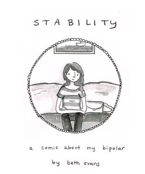 Stability With Bipolar A Cartoon Evans Art Bipolar A Cartoon