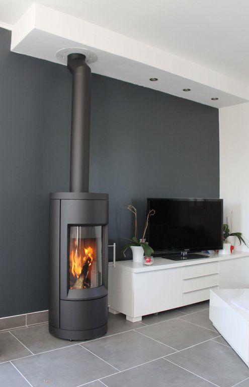 Image Poele A Bois De Tgm Interior Design Fr Du Tableau Deco Chauffage Maison