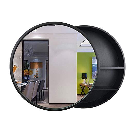 Amazon Com Sdk Round Bathroom Mirror Cabinet Bathroom Wall