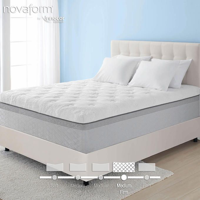 Novaform 14 Comfort Grande Queen Memory Foam Mattress Memory