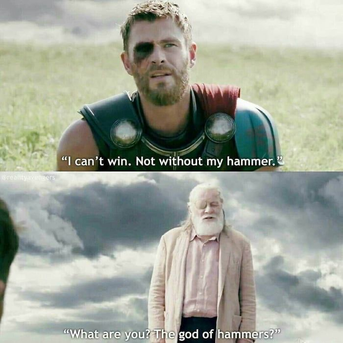 Odin, God of Sass.