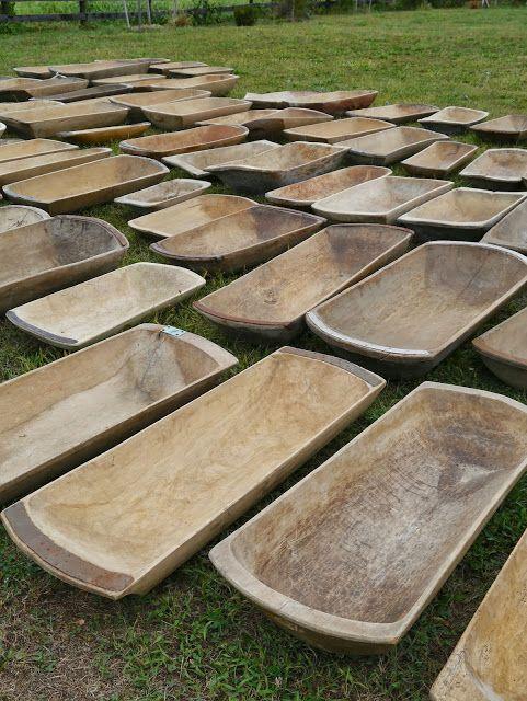 Dough Bowls All Sizes European Antiques Wooden Dough