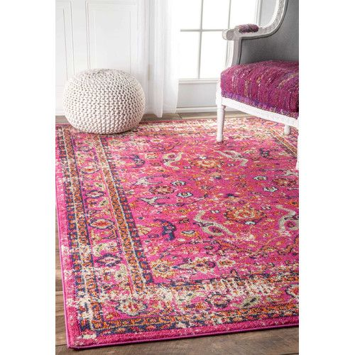 Found it at Wayfair - Pink Area Rug | Living Room Ideas | Pinterest ...