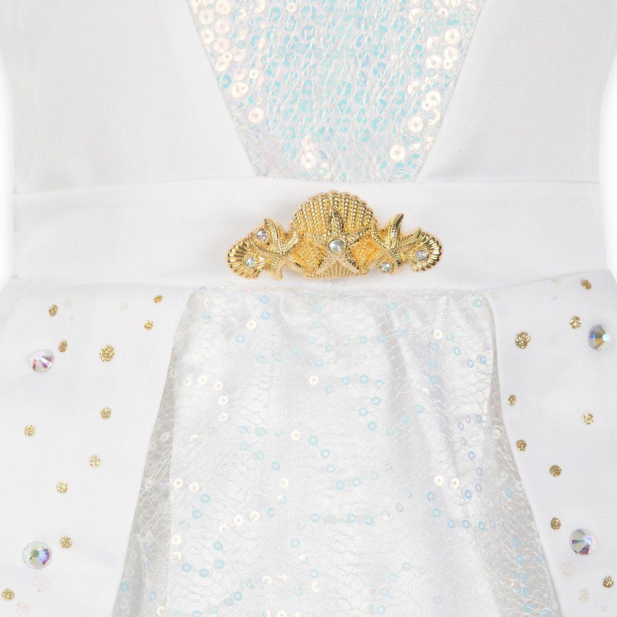 Ariel designer wedding gown costume for kids disney gown