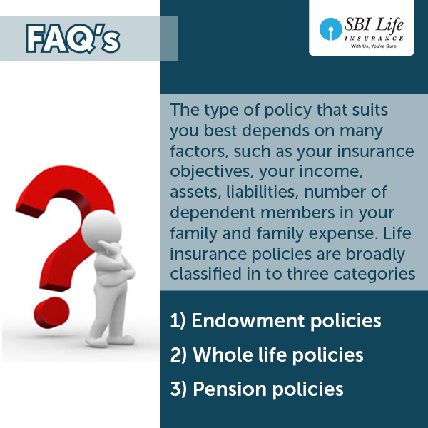 Faq Which Type Of Policy Is Best Suited For Me Life Insurance