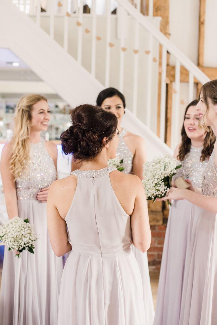 Simple elegant pretty barn wedding asos wedding and grey bridesmaid long lilac grey bridesmaid dresses asos ombrellifo Images