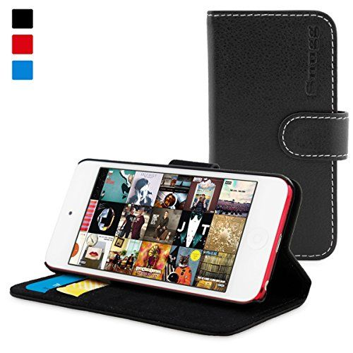 iPod Touch 5th 6th Generation Case Strong Shockproof Cover Wallet Flip Leather