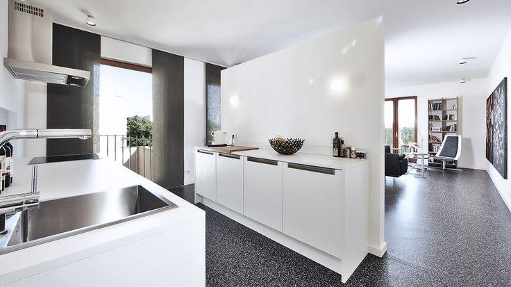 parete divisoria | Cucina soggiorno, Divisori in tessuto ...