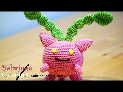 Crochet Hoppip Hoppip Haken Pokemonamigurumi Youtube