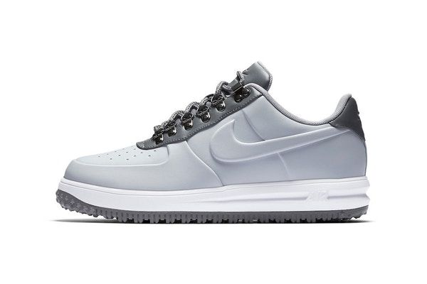 Lunar Force 1 Low Duckboot chaussures bleuNike yhP2A2