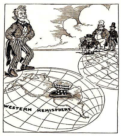 Monroe Doctrine In 1823 President Monroe Enacted The Monroe Doctrine Cutting Off Many