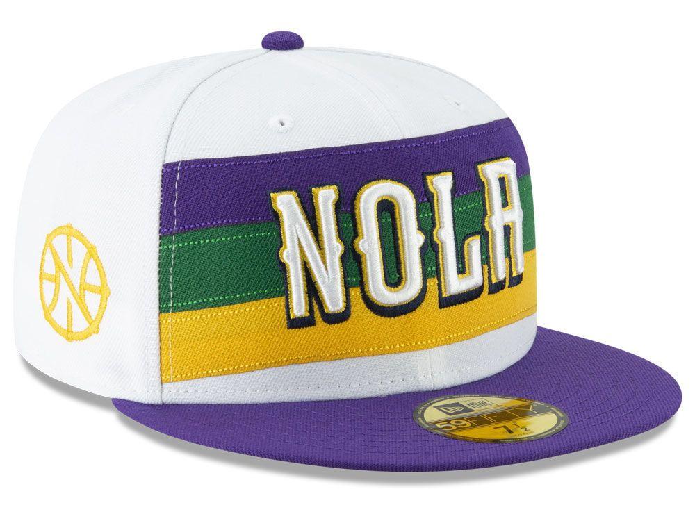 0e547a86c94 New Orleans Pelicans New Era NBA City Series 2.0 59FIFTY Cap ...