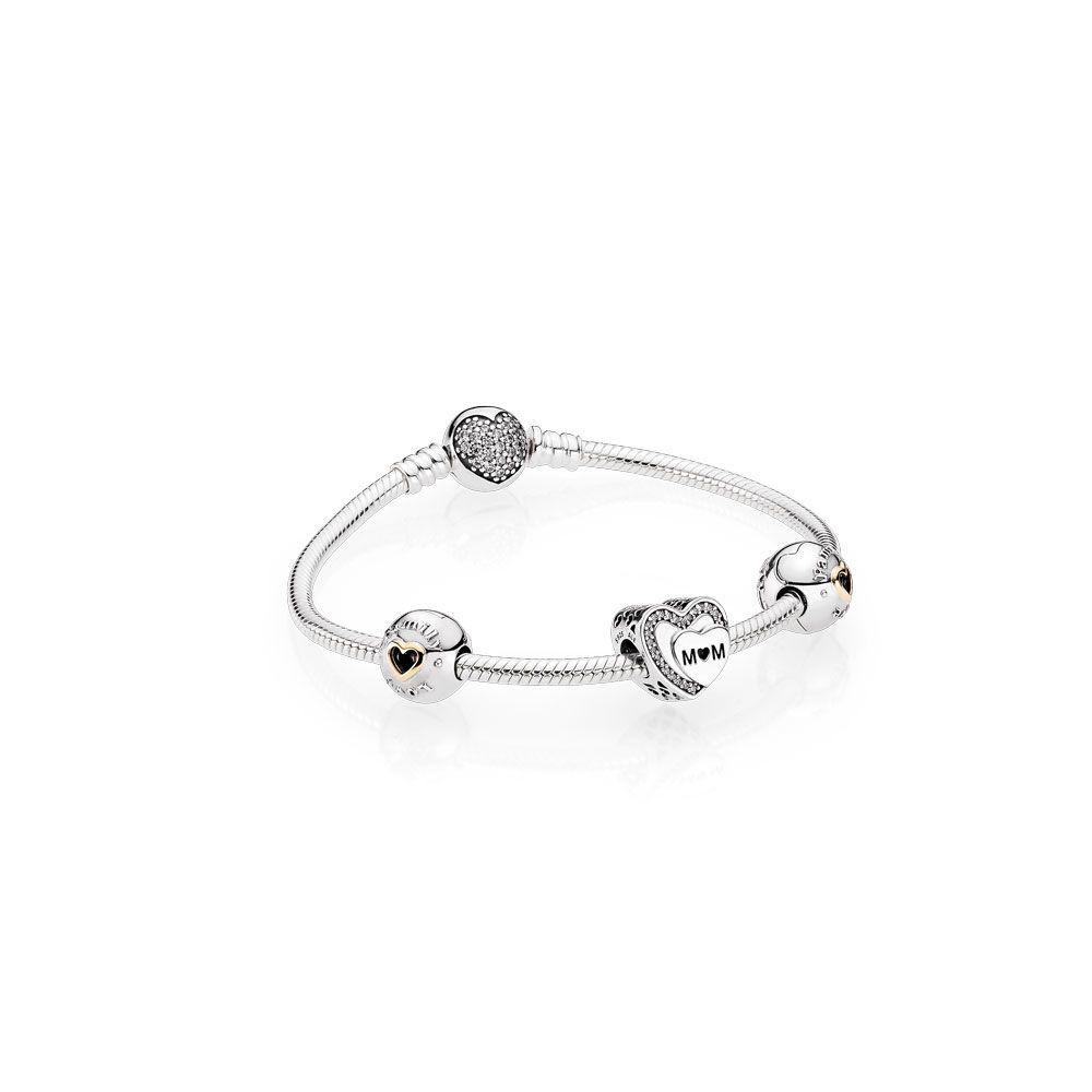 Tribute To Mom Bracelet Gift Set Pandora Jewelry Us