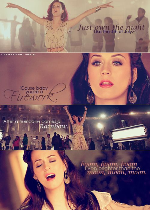 Firework Katy Perry Katy Perry Frases De Musica Y