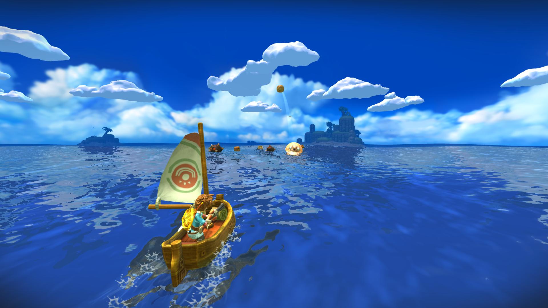 Games To Get Oceanhorn Is The Zelda For Non Nintendo Gamers Nintendo Games Arcade