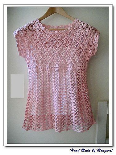 Pretty! patern in an other colour.... | crochet | Pinterest ...