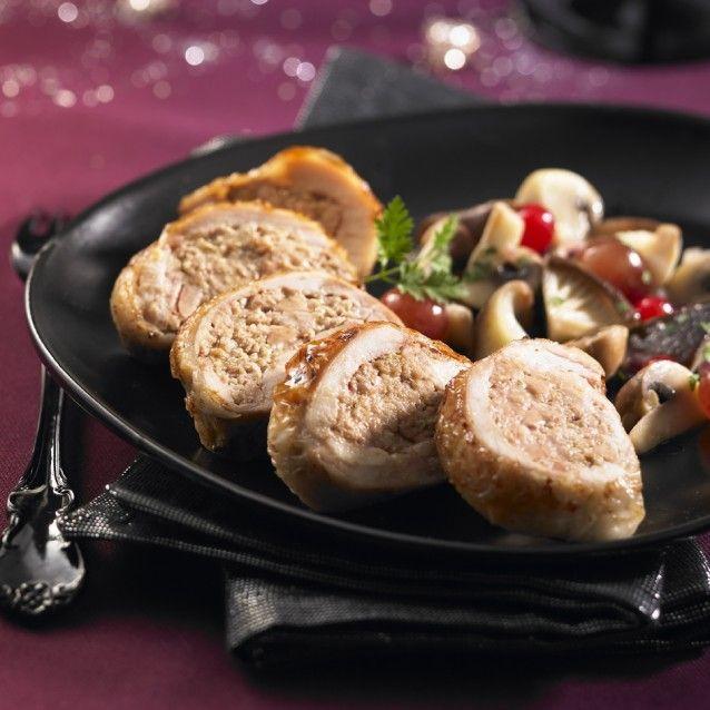 Farce au foie gras pour la dinde ou le chapon thermomix pinterest le foie gras le foie et - Farce pour dinde noel ...