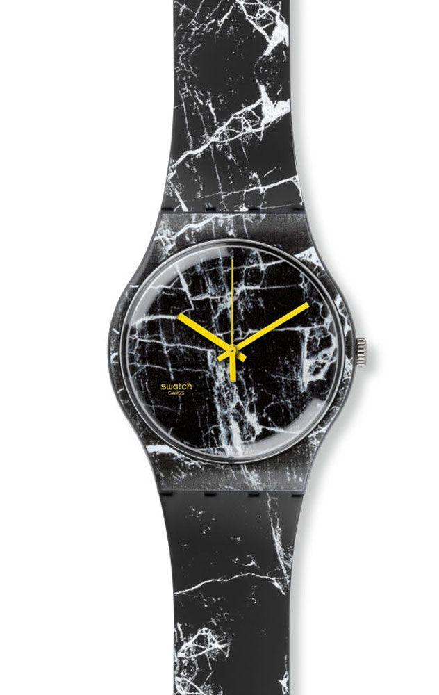 reloj swatch unisex marmor suob
