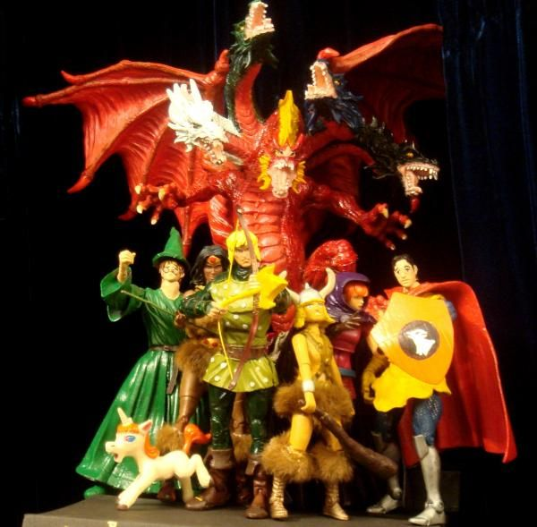 Dungeons And Dragons Dungeons And Dragons Cartoon Dungeons And Dragons Custom Action Figures