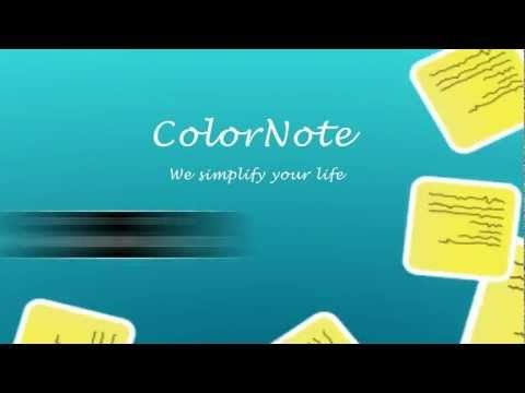 ColorNote Best Notepad & Notes App. Free personal