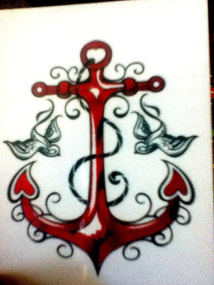 Anchor Tattoo by Carabajal32.deviantart.com on @deviantART