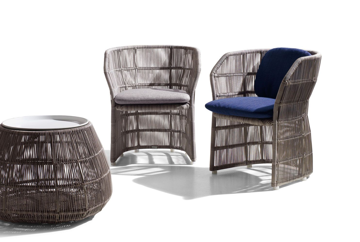 Sedia Urquiola B&amp Chair Canasta 13 Collection B B Italia Outdoor Design