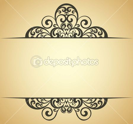 Quadro vintage — Vetor de Stock © sanjar #2388763