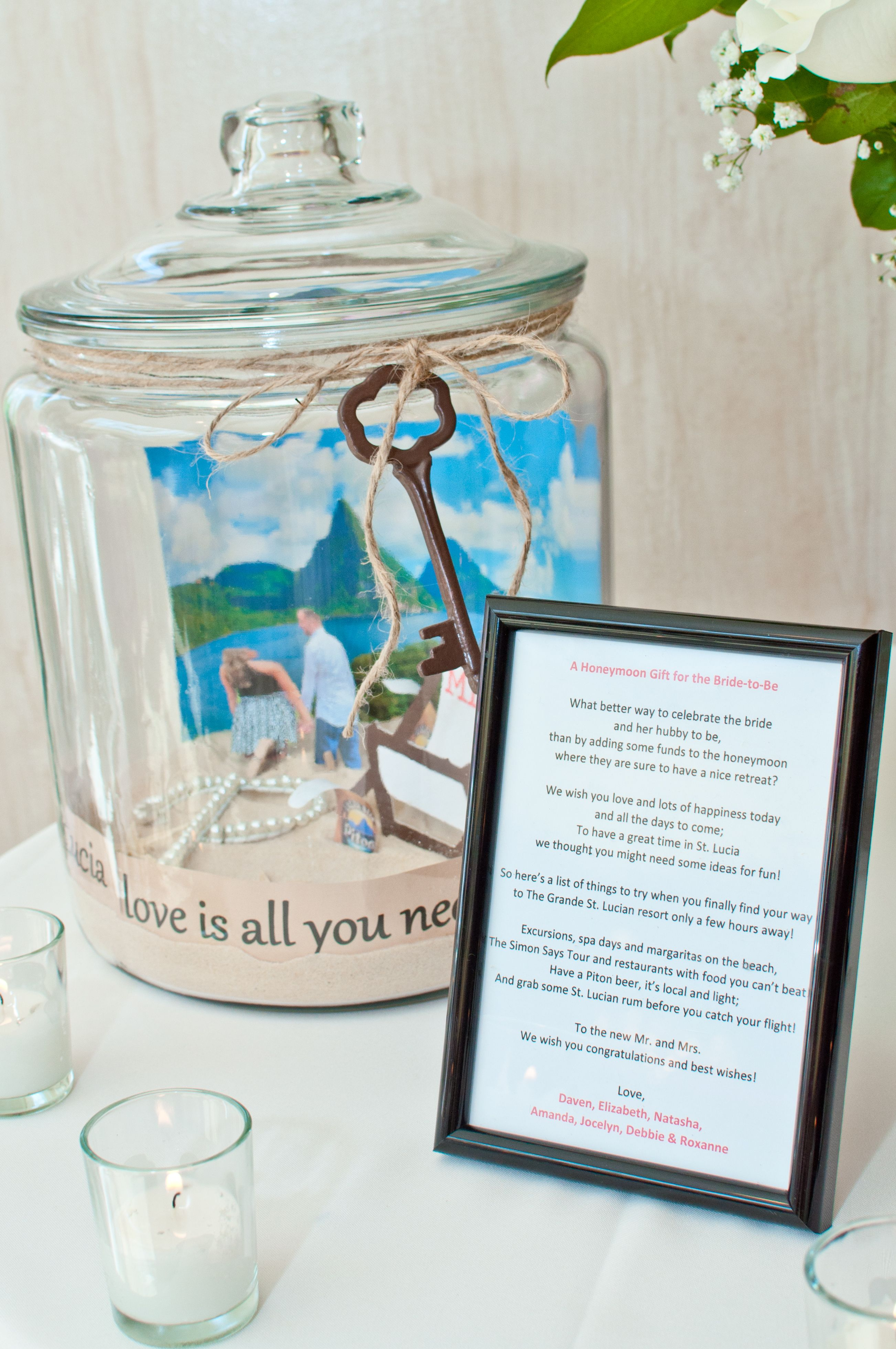 Details That Make The Difference Bridal Party Gift St Lucia
