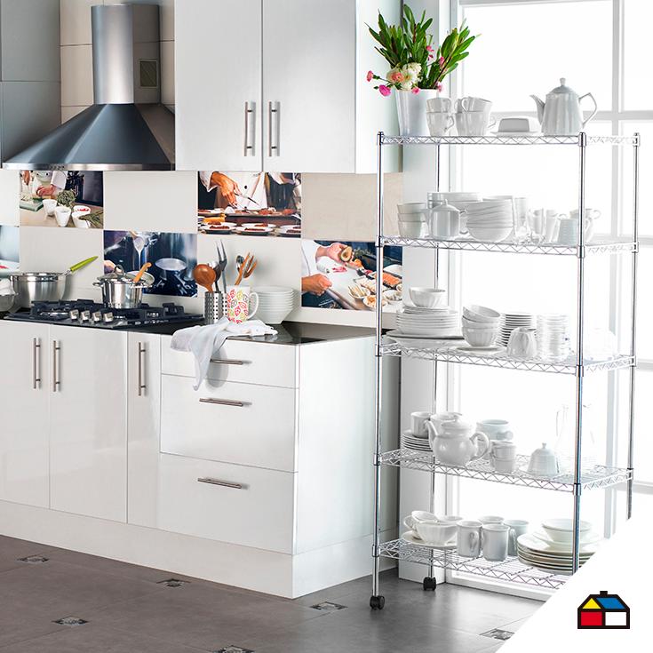 Sodimac.com.pe | Cocina pequeña, Decoración de cocina y El espacio