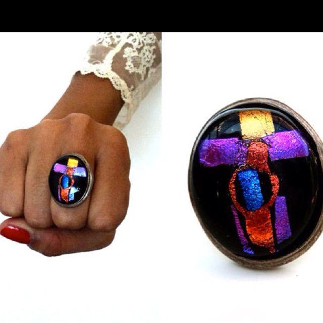Goth ring!
