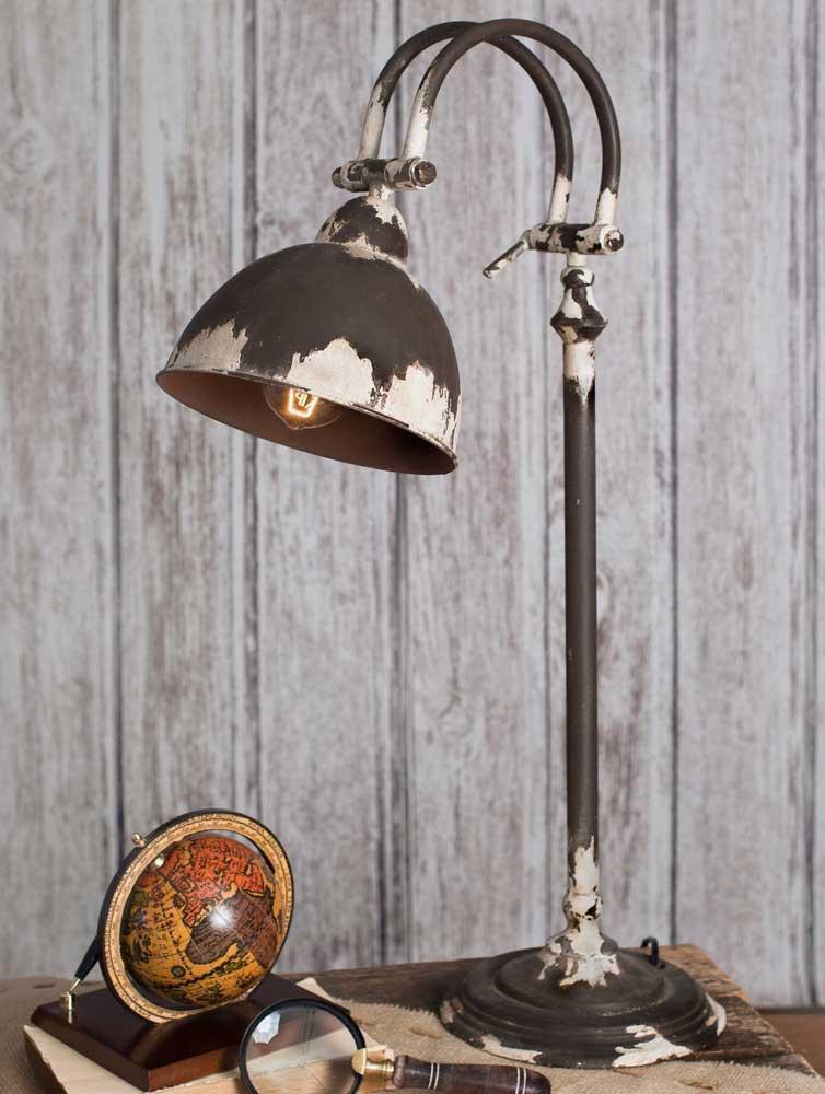RUSTIC TABLE LAMP Rustic lamps, Rustic table lamps, Desk