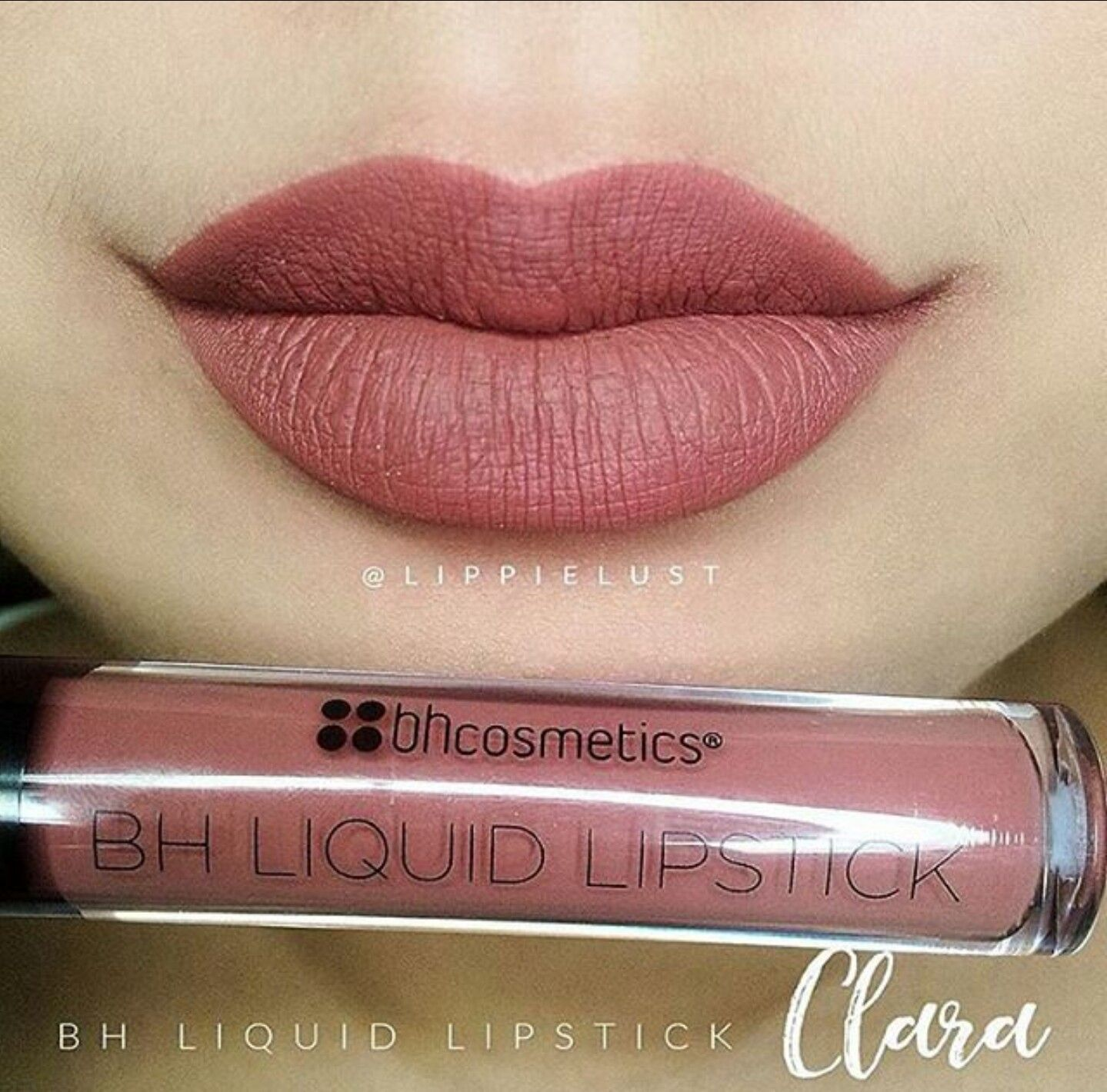 e83daf7ad91d BH Cosmetics liquid lipstick in Clara Only swatched!  LipScrub