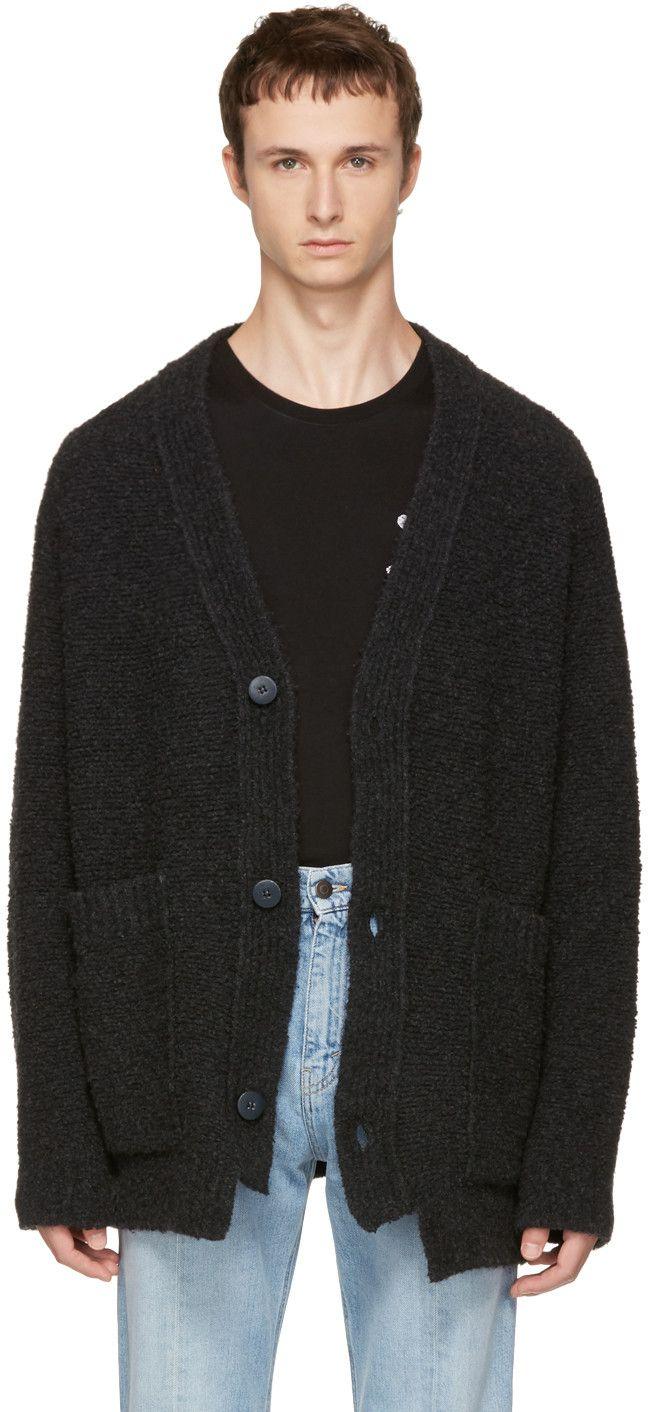 Stella McCartney - Grey Textured Cardigan