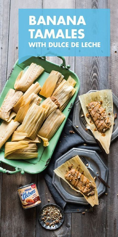 Photo of Dulce de Leche and Banana Tamales
