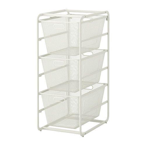 ALGOT Frame/3 Mesh Baskets   IKEA Utility Room