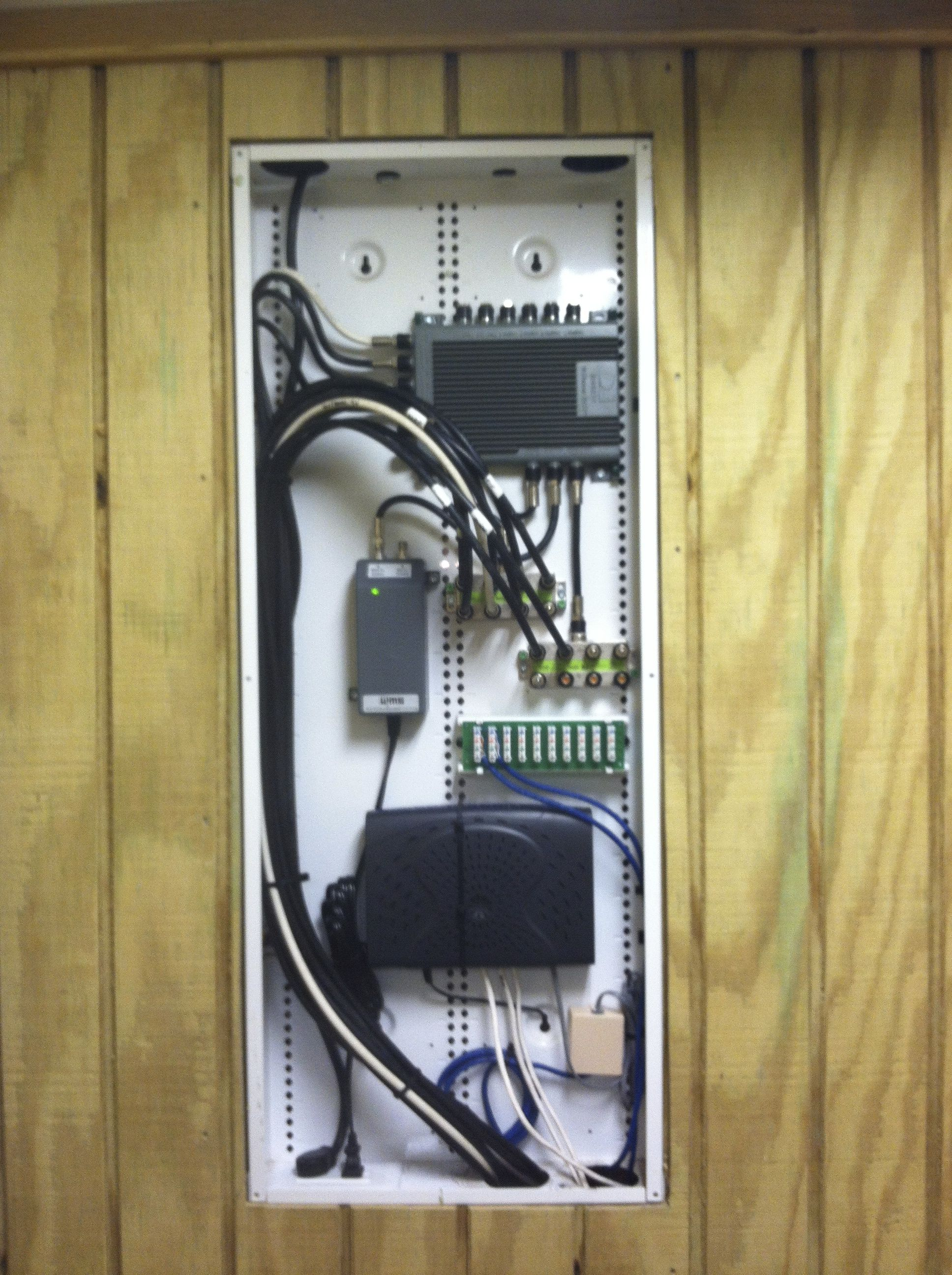 small resolution of structured network panels home structure landline phone