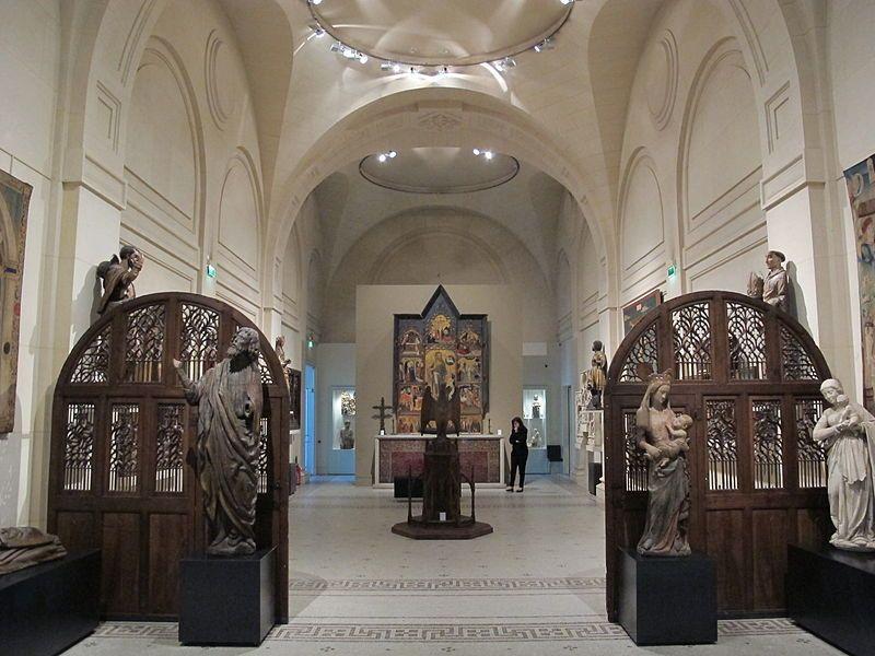 Musée des arts decorativs, sala del medioevo e rinascimento.