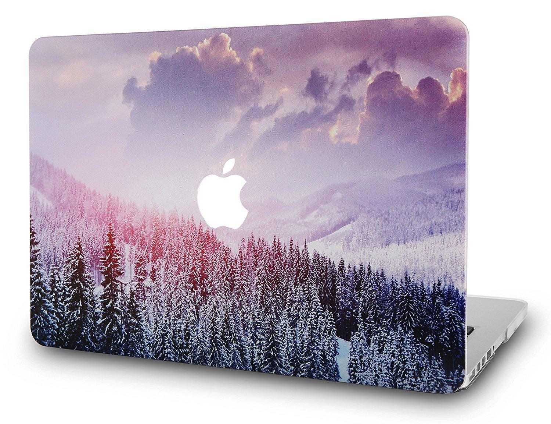 Macbook Case Color Collection Snow Mountain 2