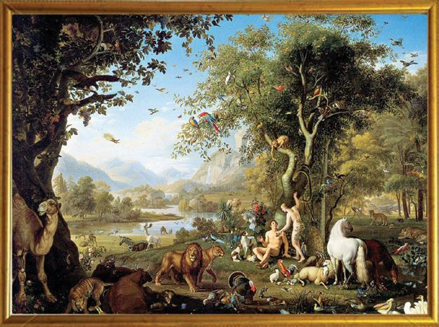 Der Garten Eden Adam Und Eva Garten Eden Paradies