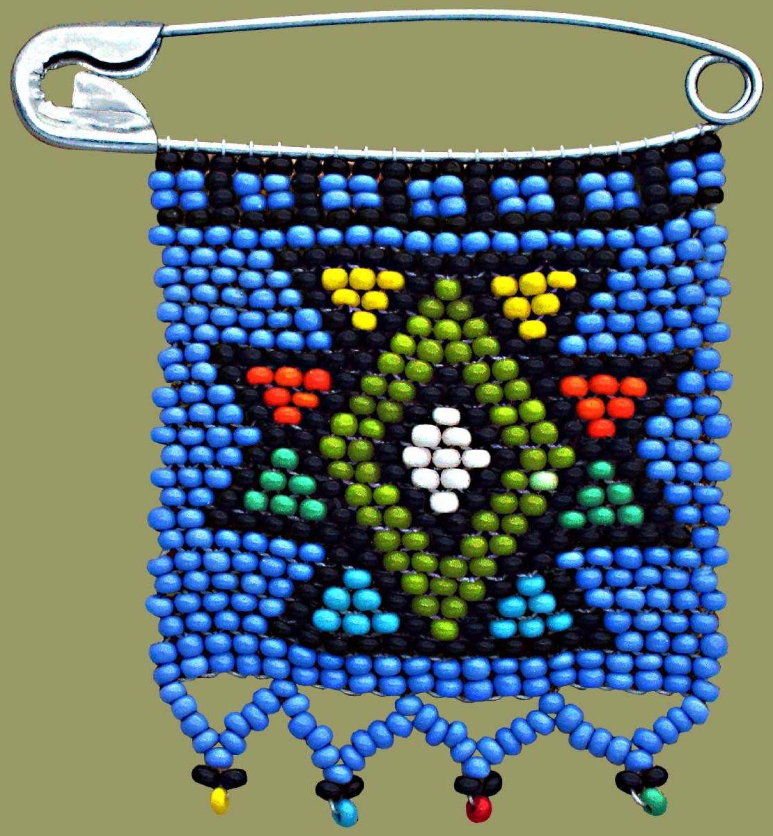 Zulu Love Letters  Zulu Love Letter Geometric Blue