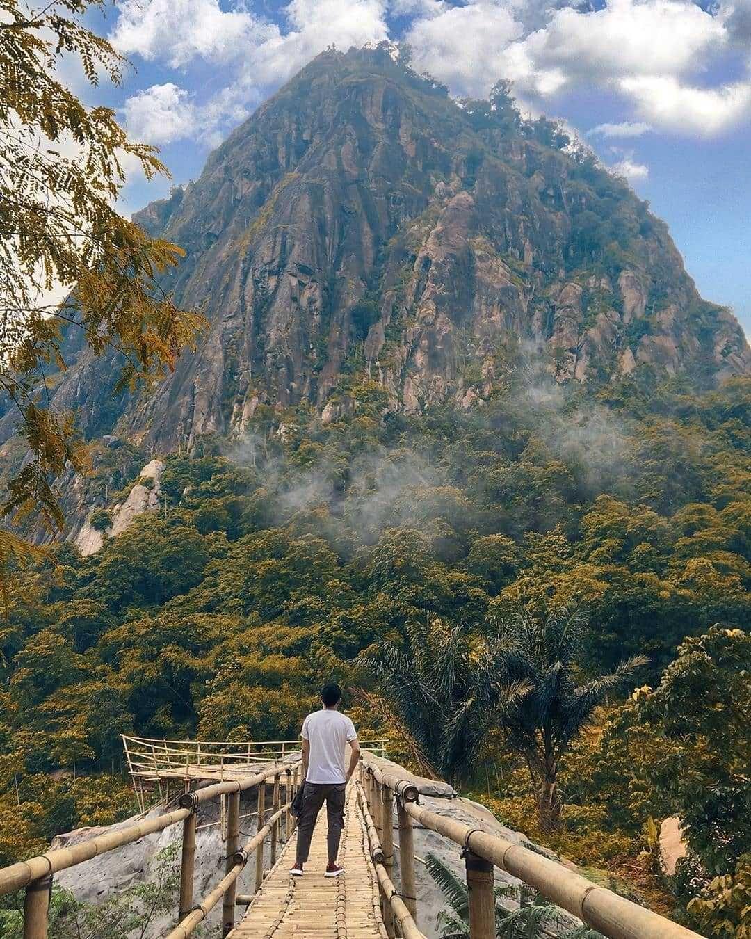 Gunung Bongkok Jawa Barat Cocok Untuk Pendaki Pemula Pemandangan Mendaki Pegunungan