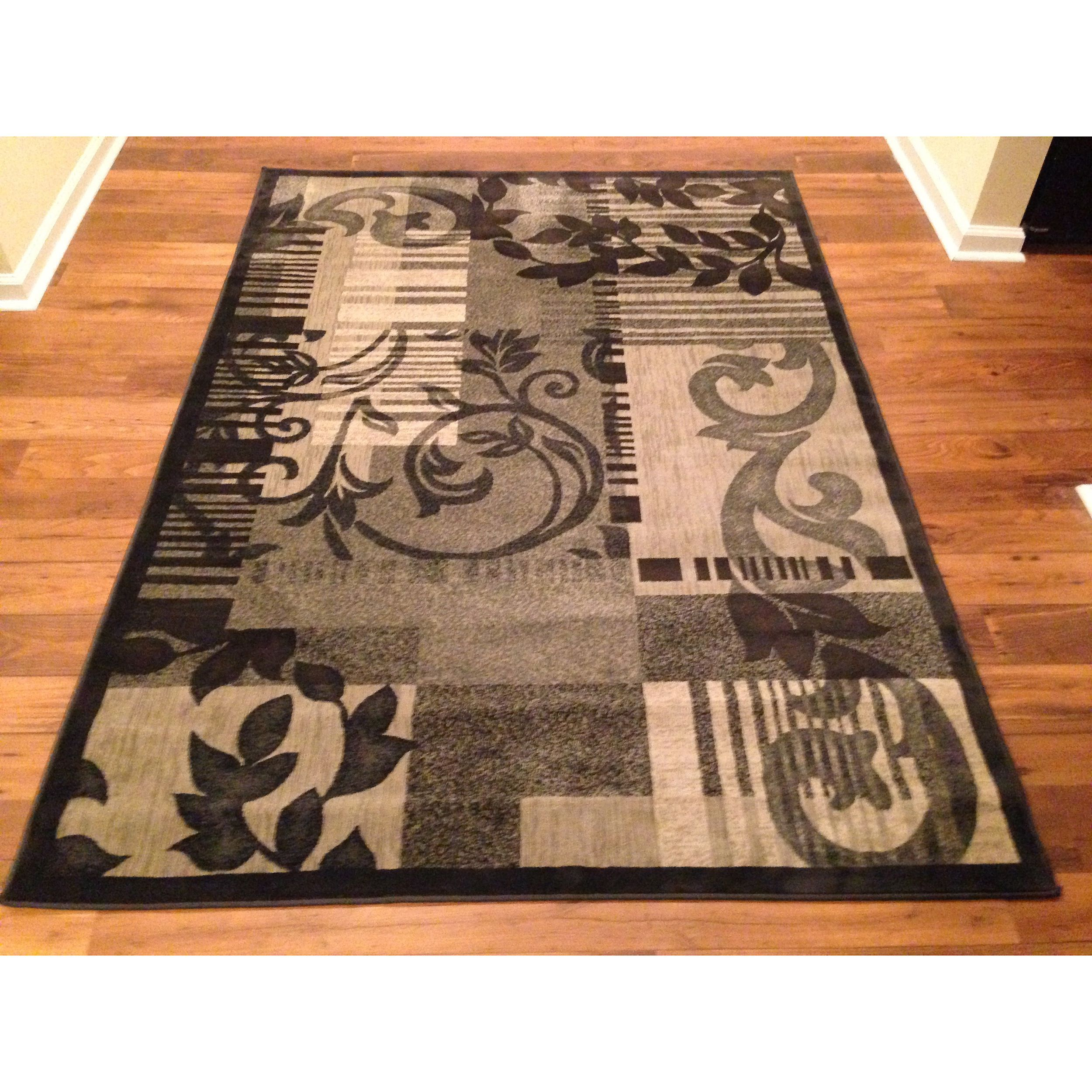 Contemporary Grey Fl Area Rug 3 X 5 Ping The Best Deals On 3x5 4x6 Rugs