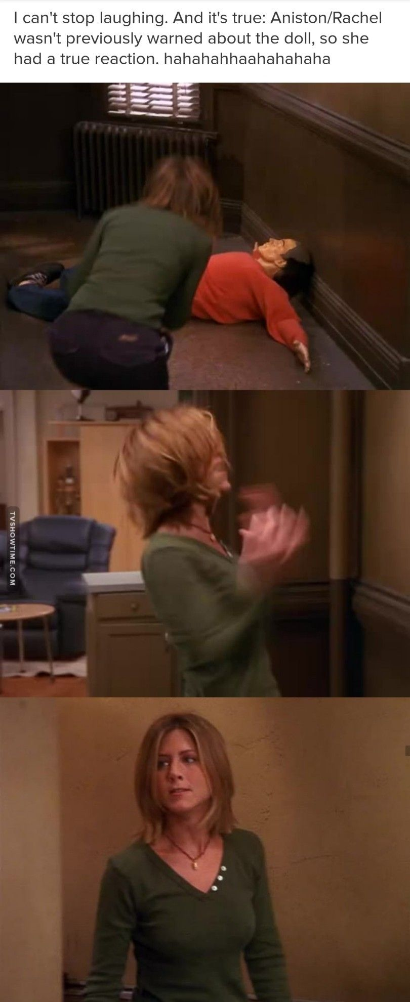 I love when they do random things so confuse the cast | Friends/the
